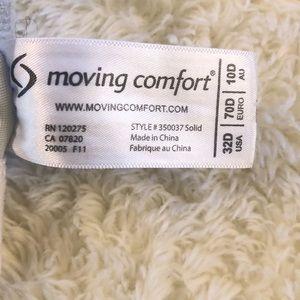 Moving Comfort Intimates & Sleepwear - Moving Comfort Rebound Racerback Sports Bra Sz 34D